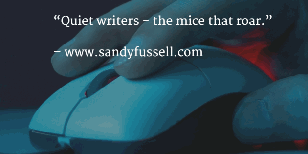quiet writers