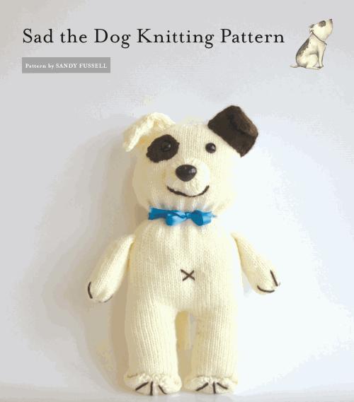 Sad the dog pattern sm