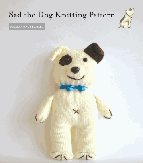 Sad the dog pattern sm